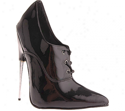 Devious Scream-18 (women's) - Black Patent