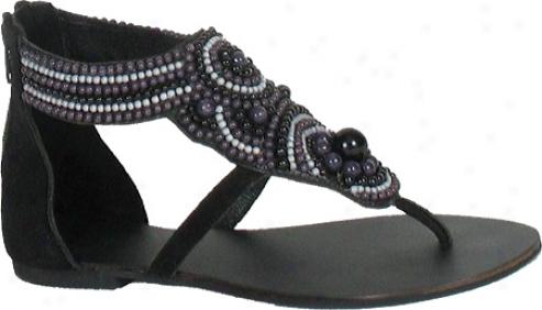 Diba Chi Keeta (aomen's) - Black/grey Suede