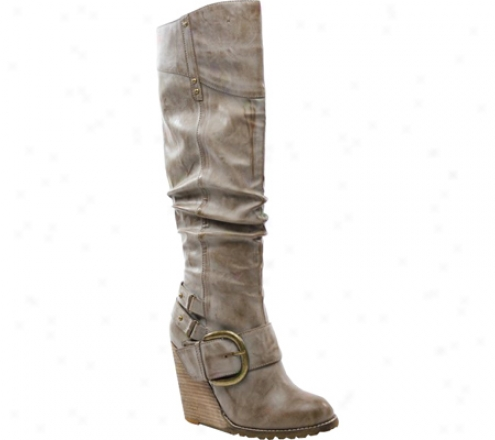 Diba Ray Dio (women'd) - Beige Leather