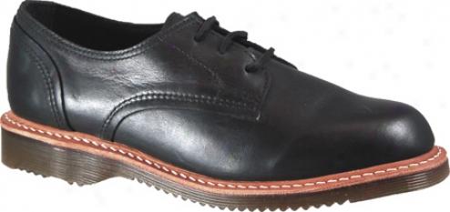 Dr. Martens Anna 3-tie Shoe (women's) - Black Darkened Mirage