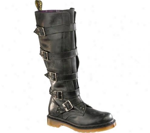 Dr. Martens Phoenix Phina Tall Boot (women's) - Black Mirage