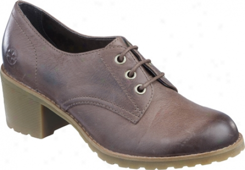 Dr. Martens Nosegay 3-eye Shoe (women's) - Dark Brown Darkened Mirage