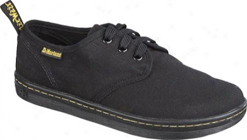 Dr. Martens Soho 3 Eye Shoe (women's) - Black Canvas
