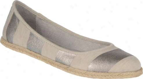 Dr. Scholl's Palma (women's) - Light Grey/silver Fabric