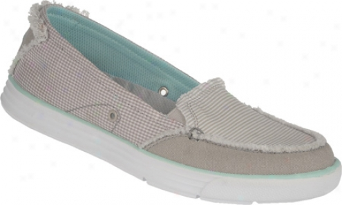 Dr. Scholl's Waverly (women's) - Highrise/white Fabric