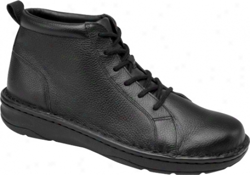 Drew Jamie (women's) - Black Tumbled Leather