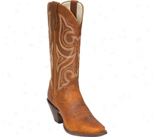 """durango Boot Rd3514 13"""" Tall Jealousy (women's) - Distressed Cognac"""