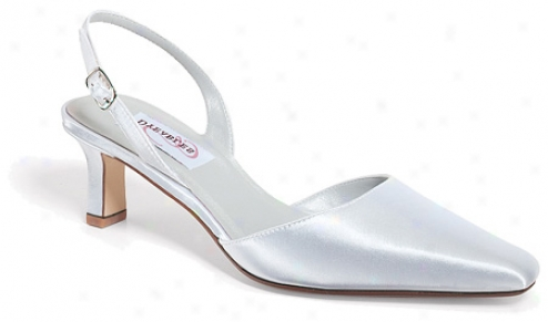 Dyeables Chantilly (women's) - White Satin