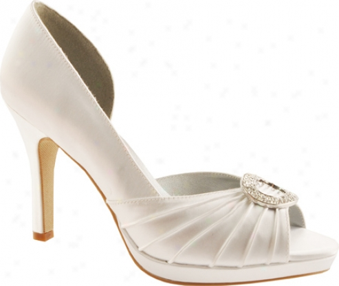 Dyeaables Halle (women's) - White Satin