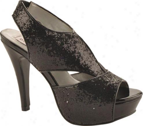 Dyeables Kat (women's) - Black Glitter