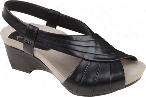 Earthies Sonoma (women's) - Black Soft Calf