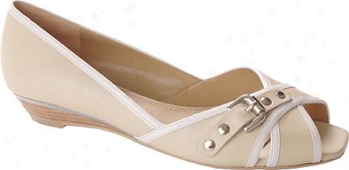 Easy Spirit Dacia (women's) - White/white Leather