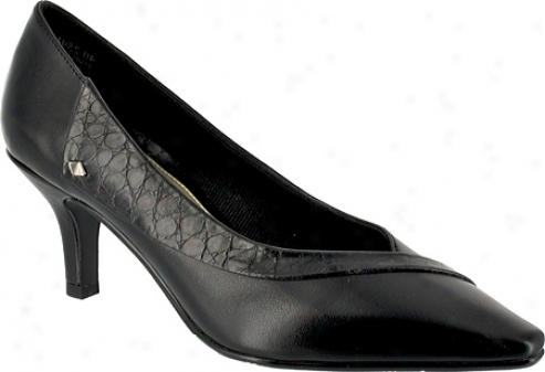 Easy Street Omega (women's) - Black/croco