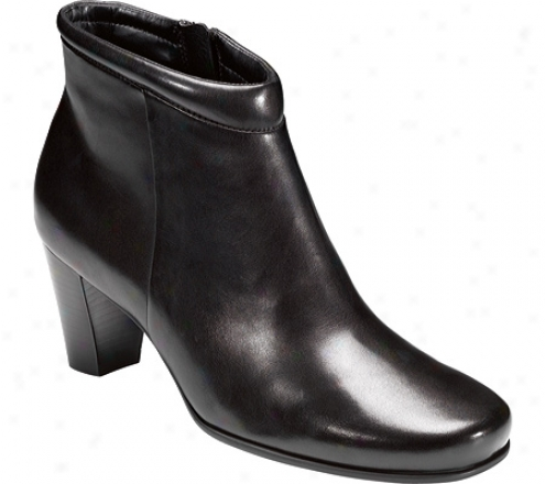 Ecco Hanna Bootie 65 Mm (women's) - Mourning Shiny Riviera Leather