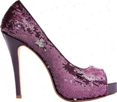 Ellie Flamingo-415 (owmen's) - Purple Sequins