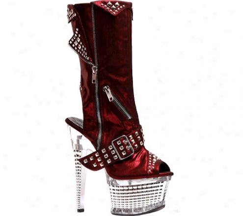Ellie Zoe-649 (women's) - Red Fabric