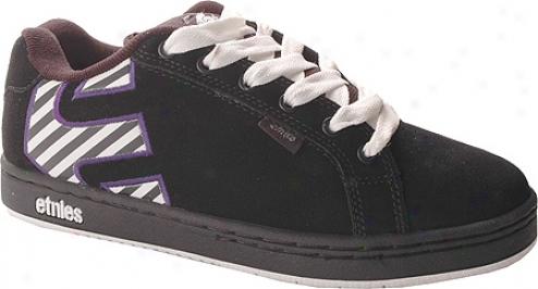 Etnies Fader (women's) - Black/purple
