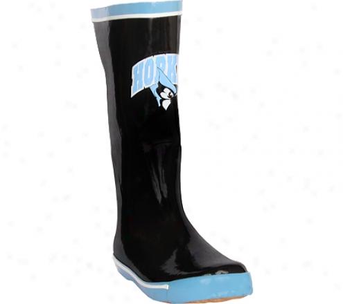 Fanshoes Johns Hopkins University Caoutchouc Boot (women's) - Black