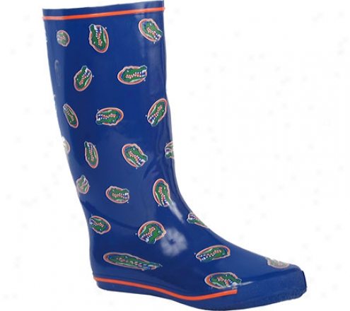 Fanshoes University Of Florida Rubber Boot (women's) - Blue