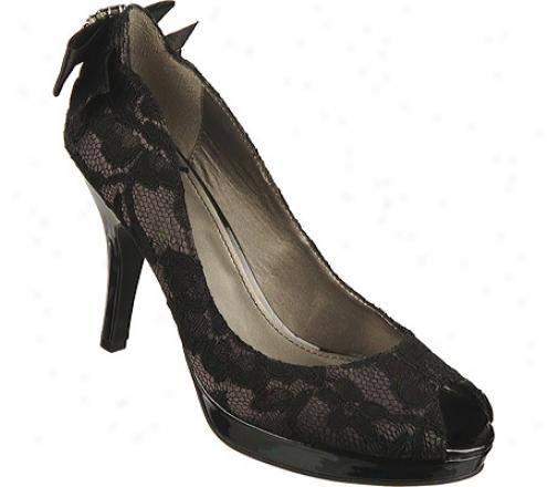 Fergalicioux Diana (women's)-- Grey Lace Cloth Fabric
