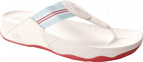 Fitflop Walkstar (women's) - White/blue