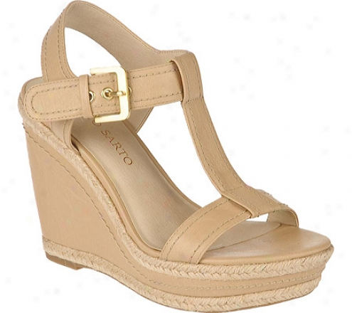 Frqnco Sarto Ambrosia (women's) - Sand Nappa Leather