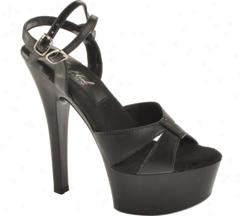 Highest Heel Christine (women's) - Black Pu