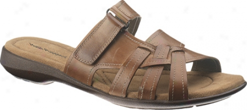 Silence Puppies Delite Slide (women's) - Tan Leather