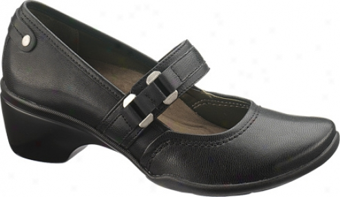 Hush Puppies Imperial (women's) - Black Leather