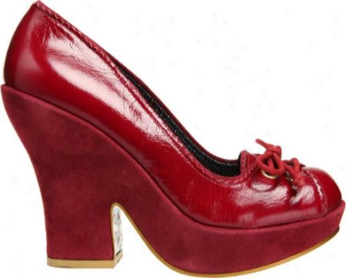 Irregular Choice Junya (women's) - Red Leather
