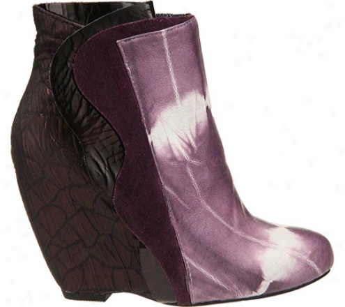 Irregular Choice Motherly Love (women's) - Purple Leather/fabric