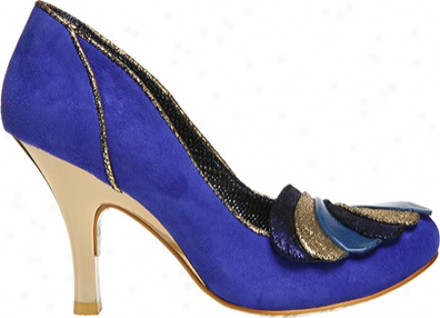 Irregular Choice Royal Marriage (women's) - Blue Leather