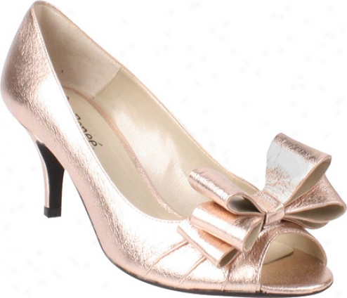 J. Renee Kaylee (women's) - Rose Gold Meyallic Nappa