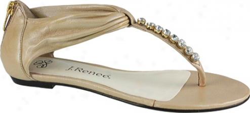 J. Renee Spruc e(women's) - Champagne Napa Leather