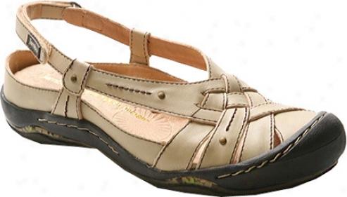 Jambu Stingray (women's) - Cream Leather