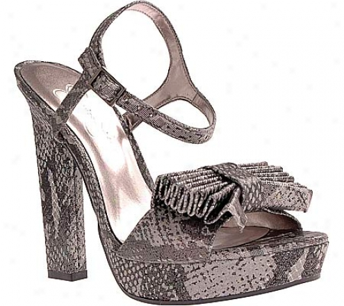 Jessica Simpson Casa (women's) - Dark Pewter Stamped Metallic Snake