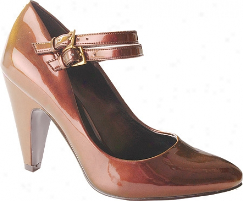 Jessica Simpson Manning (women's) - Rguged Brown Iridescent Patent