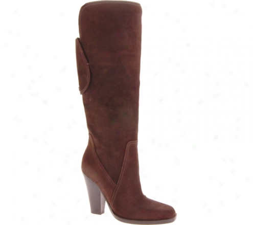 Joan & David Karina (women's) - Dark Brown Sede