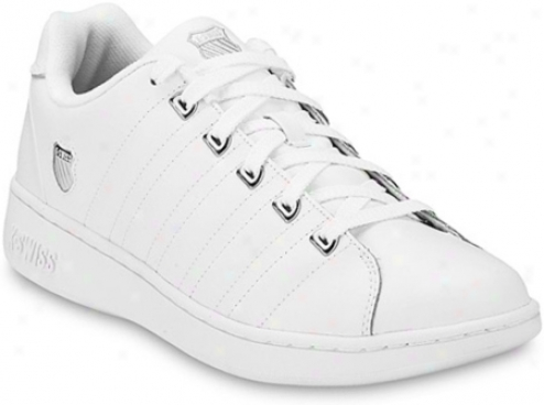 K-swiss Albu5y Ii (women's) - White/platinum