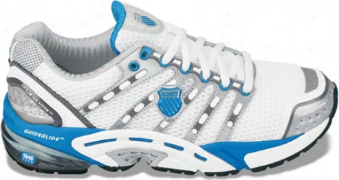 K-swiss Konesic (women's) - White/brilliant Blue/charcoal
