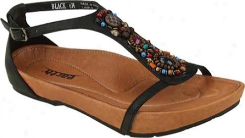 Kalso Earth Shoe Enchanting (women's) - Black Rusik Leather