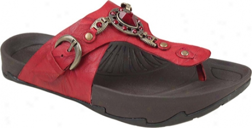 Kalso Earth Shoe Exer-luxe 2 (women's) - Spice Rhino Leather