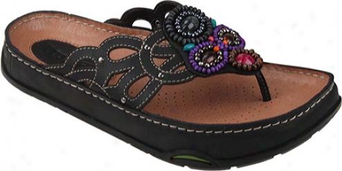 Kalso Earth Shoe Freesia (women's) - Black Nubuck