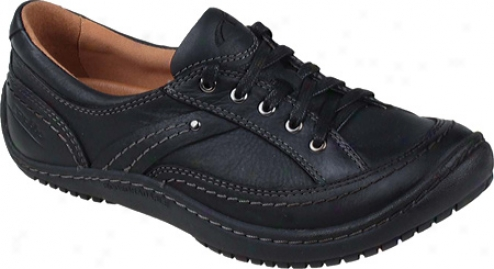 Kalso Earth Shoe Integratr Too (women's) - Black Vintate Leather