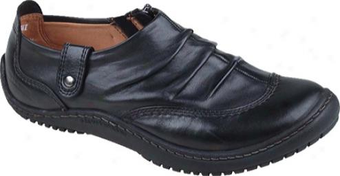 Kalso Earth Shoe Invoke (women's) - Black Vintage Leather