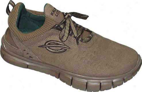 Kalso Earthh Shoe Lazer Vegan (women's) - Knaki Microfiber