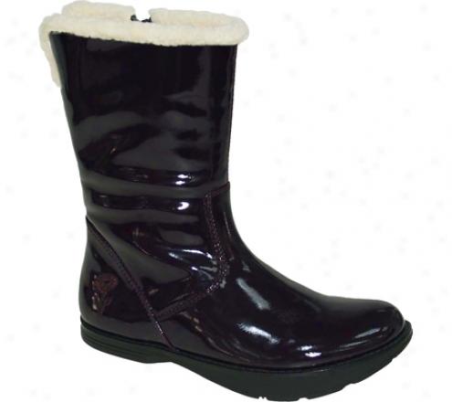 Kalso Earth Shoe Pride (women's) - Plum Microfiber Patent