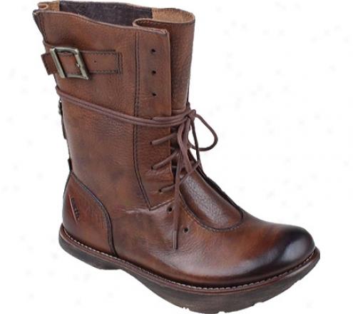 Kalso Earth Shoe Rebel (women's) - Almond Vintage Leather