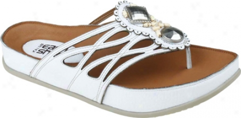 Kalso Earth Shoe Rhyme (women's) - White Leather
