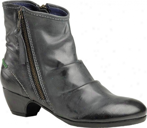 Kickers Elsoft (women's) - Darkish Grey Leather